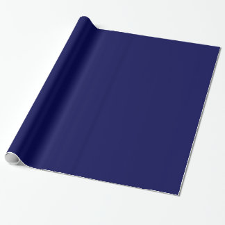 Dark Blue Wrapping Paper