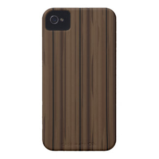 Dark Brown Fence Fence iPhone 4 Cover