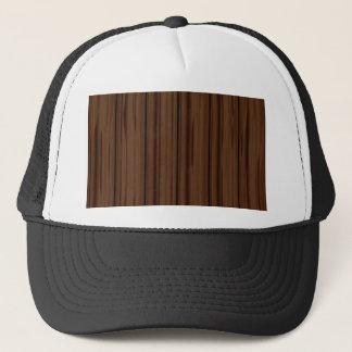 Dark Brown Fence Fence Trucker Hat
