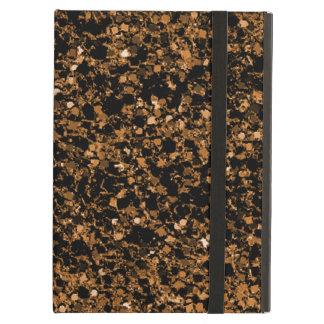 Dark brown glitter iPad Air Case