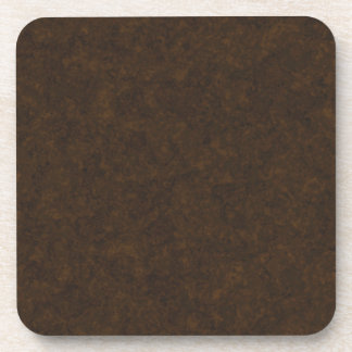 Dark Brown Pattern Coaster
