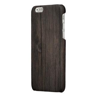 Dark Brown Planks iPhone 6 Plus Case