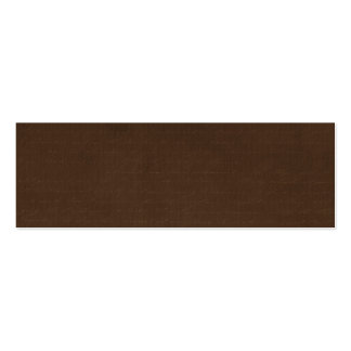 dark brown with writing background business cards