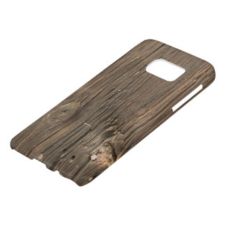 Dark Brown Wooden Texture Samsung