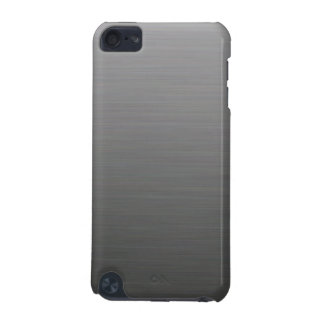 Dark Brushed Silver Metallic Look iPod Touch 5G Case