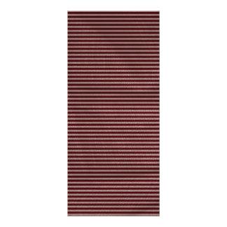 dark burgundy red stripes custom rack card