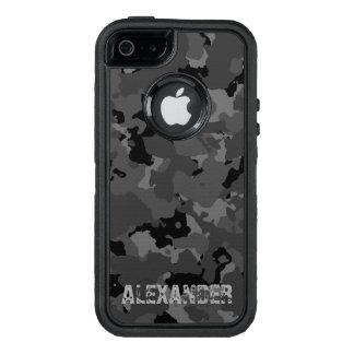 Dark Camo Name Template OtterBox iPhone 5/5s/SE Case