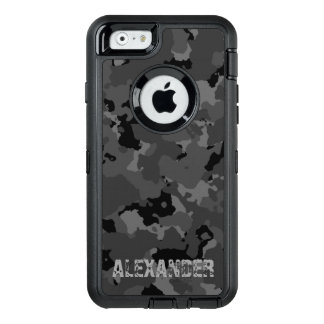 Dark Camo Name Template OtterBox iPhone 6/6s Case