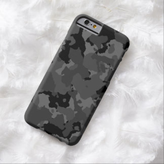 Dark Camo Pattern Barely There iPhone 6 Case
