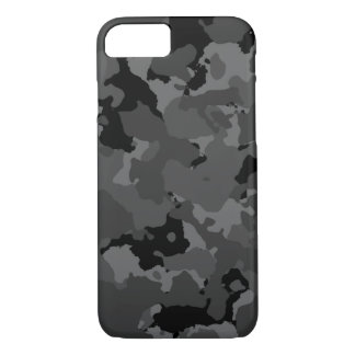 Dark Camo Pattern iPhone 7 Case