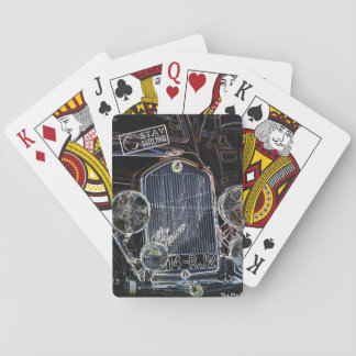 Dark Car Playing Cards