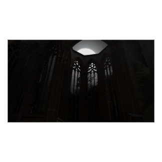 dark cathedral poster