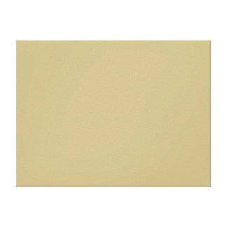 Dark Champagne Solid Color Gallery Wrapped Canvas
