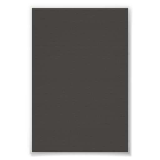 Dark Charcoal Grey Background on a Poster