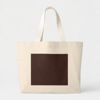 Dark chocolate hex code 3D241F Bag