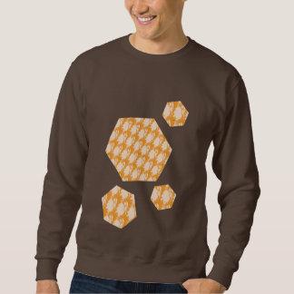 Dark chocolate sweatshirt with cool design