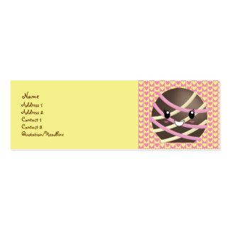Dark Chocolate Truffle Business Card