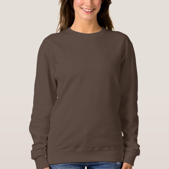 Dark Chocolate Women's Basic Sweatshirt