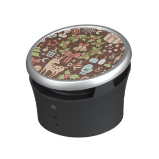 Dark Christmas background Bluetooth Speaker