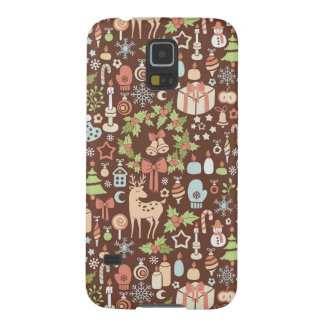 Dark Christmas background Galaxy S5 Cover