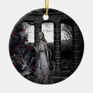 Dark Christmas Gothic Holiday Ornament