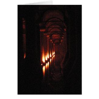 Dark Cistern Greeting Card