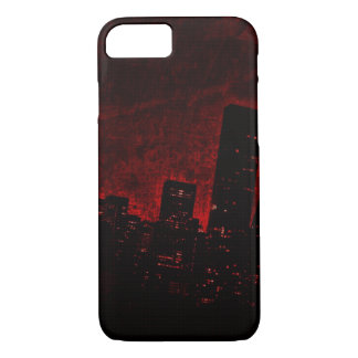 Dark City - Red - iPhone 7, Barely There iPhone 8/7 Case
