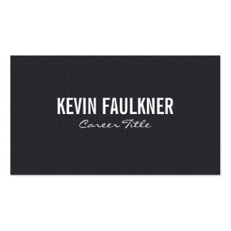 Dark Cloth Print Pack Of Standard Business Cards