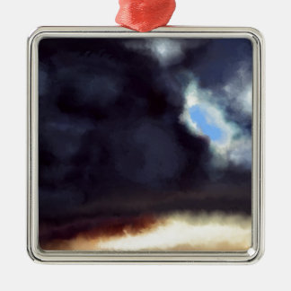 Dark Cloud Christmas Ornament