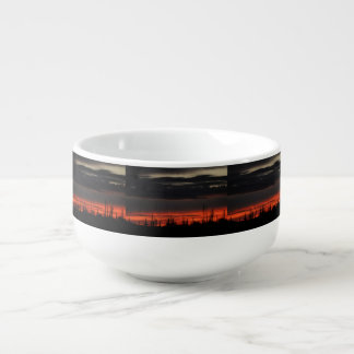 Dark Clouds in Orion Soup Mug