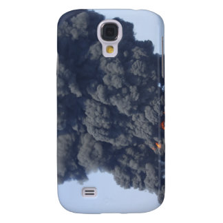 Dark clouds of smoke and fire emerge 2 galaxy s4 case
