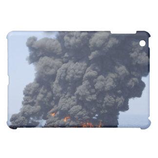 Dark clouds of smoke and fire emerge 2 iPad mini cover