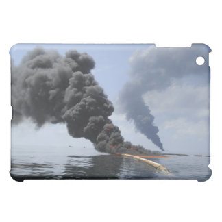 Dark clouds of smoke and fire emerge 3 case for the iPad mini