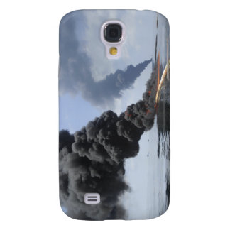 Dark clouds of smoke and fire emerge 3 galaxy s4 case