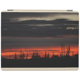 Dark Clouds & Saguaro  iPad Smart Cover iPad Cover