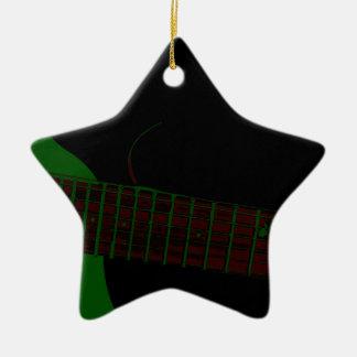 Dark Club Background Christmas Ornament