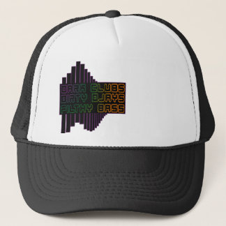 Dark Clubs Dirty Djays Filthy Bass CLUB DJ Trucker Hat