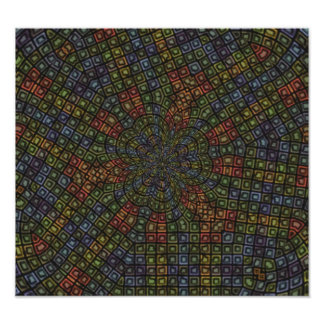 Dark colored abstract pattern photo