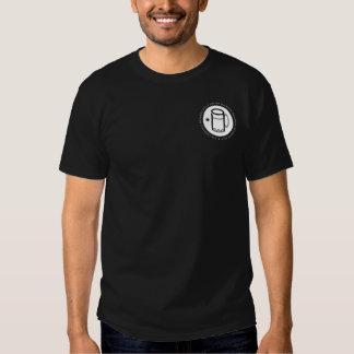 Dark colored shirts, smaller front logo t shirt