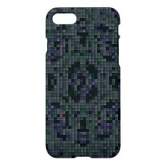 dark colored square pattern iPhone 7 case