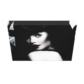 Dark Countess Stretched Canvas Prints