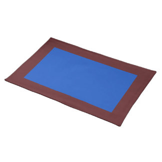 Dark Cranberry and Blueberry-Colored Placemat