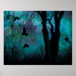 Dark Crow Fantasy Poster