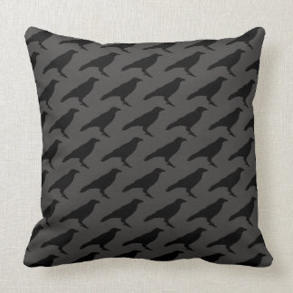 Dark Crow TP Throw Pillow