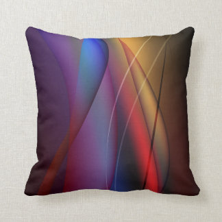 Dark Curtain American MoJo Pillow