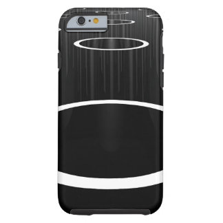 Dark Cylinders Tough iPhone 6 Case