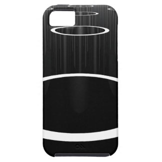 Dark Cylinders iPhone 5 Cover