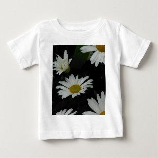 Dark Daisies 2 Flowers Americana Folk Art Baby T-Shirt