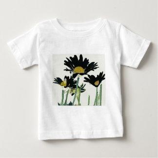 Dark Daisies Baby T-Shirt