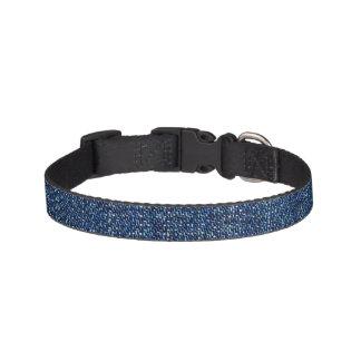Dark Denim Pet Collar